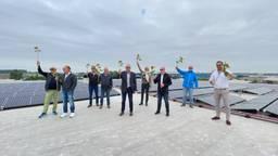 Zonnecentrale op het dak van Eventum moet Bergen op Zoom duurzamer maken