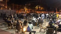 Eindhovense horecaondernemers borrelen bij wijze van protest na 'in de voortuin van de heer Jorritsma'