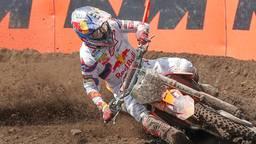 Herlings breekt schouderblad tijdens Grand Prix in Oss
