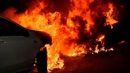 Auto's uitgebrand op plek waar eerder auto werd beschoten