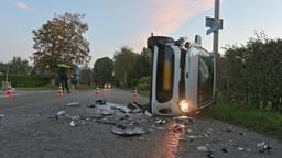 Een ongeluk tussen drie auto's in Etten-Leur.