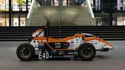 De elektrische raceauto (foto: TU/e).