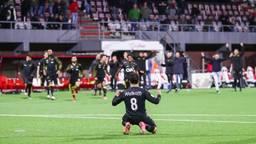 El Allouchi schiet de winnende penalty binnen (foto: OrangePictures).