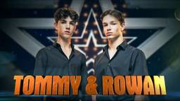 Tommy en Rowan wonnen Holland's Got Talent 2020. Foto: RTL.