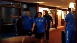 Diego Maradona en zijn gevolg verbleven bijna een maand in Carlton De Brug in Mierlo