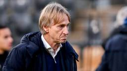 Willem II-coach Adrie Koster na de dreun in Venlo (foto: Orange Pictures).