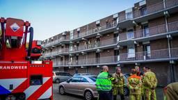 De brandweer had het vuur snel onder controle (foto: Sem van Rijssel/SQ Vision)