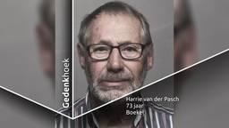 Harrie van der Pasch was een echte levensgenieter.