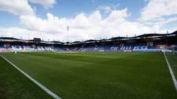 Leeg Willem II stadion decor vanaf september