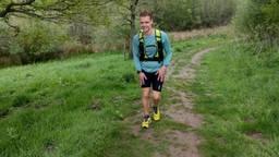 Addie van der Vleuten liep het Pieterpad in iets meer dan 78 uur (foto: Addie van der Vleuten).