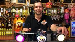 Rick Broers, eigenaar van feestcafé De Prins in Tilburg (Foto: Imke van de Laar).