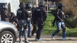 De aanhoudingen werden verricht door de Dienst Speciale Interventies (Archieffoto: Willem-Jan Joachems).