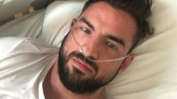 Matthieu ligt al dagen in het ziekenhuis.