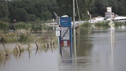 Beelden van het hoogwater in de regio Oss en Den Bosch