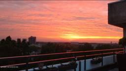 Paul maakte deze foto op zijn balkon.