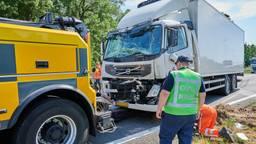 Er raakte niemand gewond (foto: Tom van der Put/SQ Vision Mediaprodukties).