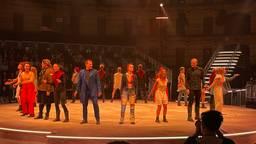 Première Zodiac de Musical in Koepelgevangenis in Breda. (foto: Tom van den Oetelaar)