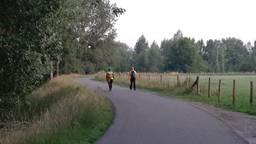 Marieke zette vanwege dit jaar zelf haar wandeltocht uit (foto: Marieke Janssen)