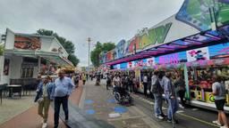 De zomerkermis in Tilburg (foto: Collin Beijk).