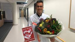 Daan van den Bersselaar (26) werd verrast voor de Dag van de Zorg.