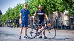 Onderzoeker Rogier Veltrop en Ruud van der Meijden.