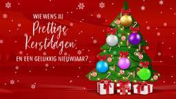 Aan wie wil jij een kerstboodschap sturen waar je deze kerst niet bij kan zijn?