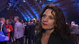 Tanja van de Ven op het CDA-congres in 2019 (foto: NOS)