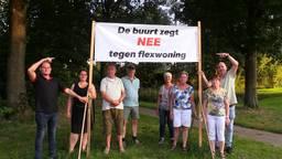 In de Osse wijk De Ruwaard komen 72 flexwoningen voor zogenoemde 'spoedzoekers'. De buurt ziet dat niet zitten.