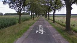 Het ongeluk gebeurde op de Ziekbleek (beeld: Google streetview).