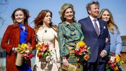 De Oranjes tijdens Koningsdag in Eindhoven. Foto: ANP.