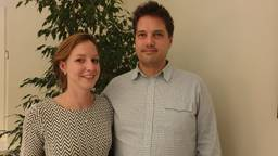 Maarten en Josephine Hamel (privéfoto).