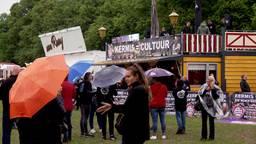Demonstratie van kermisexploitanten op het Malieveld in Den Haag.