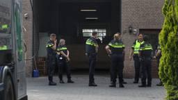 De politie is bezig met een onderzoek in Nistelrode (foto: Gabor Heeres/SQ Vision Mediaprodukties).