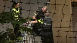 Een buurtbewoonster zag de aanhouding vanaf haar balkon (foto: Omroep Brabant).