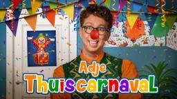 Adje viert carnaval dit jaar thuis met nieuwe carnavalskraker: 'Thuiscarnaval'