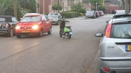 Een deelscooter in Eindhoven (Foto: Freddy van Houtert).