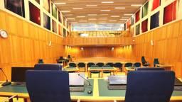 De rechtszaal waar het proces plaatsvindt in Den Bosch (Archieffoto: Karin Kamp)