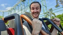 Eindelijk kon Alain weer in de achtbaan (foto: Alain Heeren)