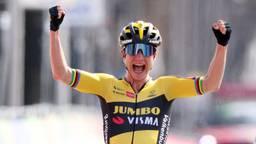 Kan Vos in de Tour volgend jaar opnieuw haar armen in de lucht steken? (foto: ANP).