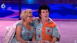 Toon en Maria bij de uitslag van De Dansmarathon (beeld: SBS)