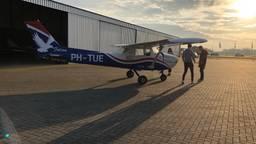 Studenten van de TU/e willen dit vliegtuigje elektrisch maken.