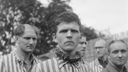 Sjef Paijmans in Kamp Vught (foto: Nationaal Archief).