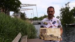 Freddie de Roeck is de allergrootste fan van de Tilburgse Piushaven (foto: Tom van den Oetelaar).