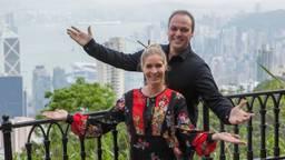Frans en Mariska Bauer in China (foto: AVROTROS).