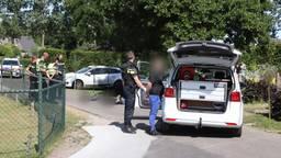 Arrestatie na een wilde achtervolging. (Foto: Sander van Gils)