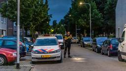 Politieonderzoek in de Rentmeesterlaan in Tilburg (foto: Jack Brekelmans/SQ Vision).