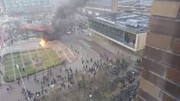 Een beeld vanuit het Student Hotel.