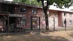 Een van de huizen op het terrein van Bijzonder Jeugdwerk in Deurne