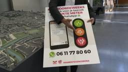 De Drukte Meter meldt per WhatsApp of je veilig kunt winkelen in de binnenstad van Breda. (foto: Raoul Cartens)