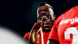 Ibrahim Sangaré is na blessureleed terug bij PSV (foto: Orange Pictures).